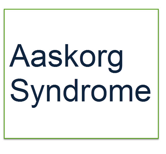 aaskorg-syndrome