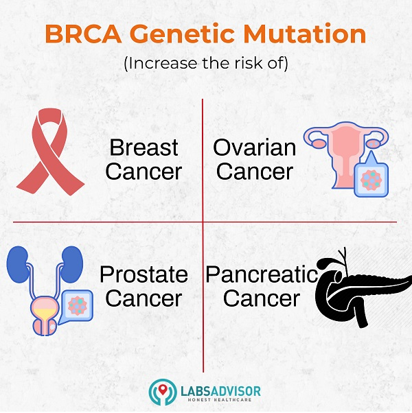 Effects of BRCA gene mutations