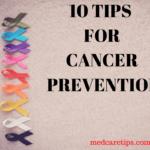tips for cancer prevention