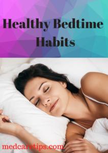 healthy bedtime habits